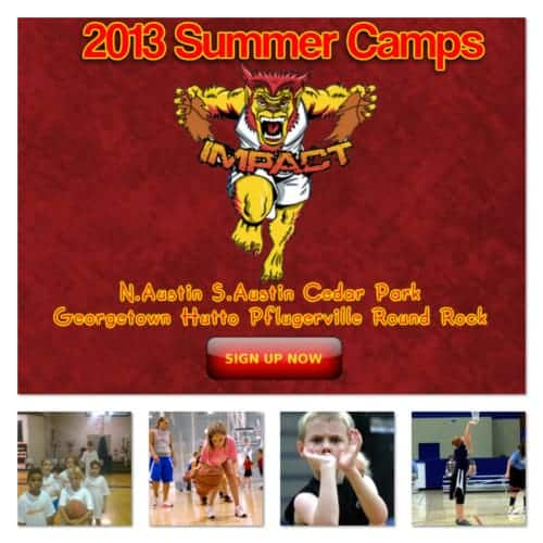 Austin and Cedar Park summer basketball camps 2013