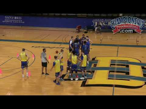 """""""Alley Drill"""" Competitive 1-on-1 Basketball Drill for Defense!"""