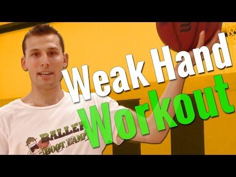 5 Basketball Drills To Improve Your Weak Hand