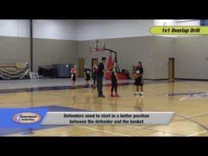 1v1 Overlap Drill – Ballhandling, Defense, Agility