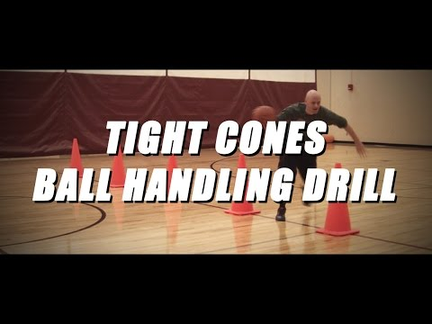 FREE Basketball Drills – Tight Cones Ball Handling Drill – NBA Ball Handling Drill