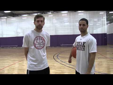 Basketball Drills- How To Do A Jump Stop Lay Up!