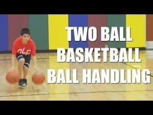 Two Ball, Basketball Ball Handling Drill with Dickey Simpkins