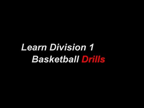 Basketball Drills | Division 1 Basketball Training Program