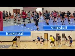 The Volleyball/Basketball drill which is really a Football Drill
