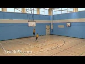 Basketball Drills – Passing – 2 Man, 2 Pass and Move
