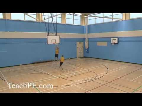 Basketball Drills – Passing – 2 Man, 2 Pass and Move