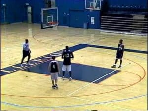 Effective Motion Offense Basketball Drill – 2 Ball Shooting