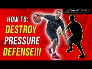 How to: Beat Tight Pressure Defense Without Turning The Ball Over!!! Basketball Drills
