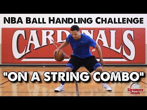 NBA Ball Handling Drill – On a String Combo (Can You Beat the Pro?)