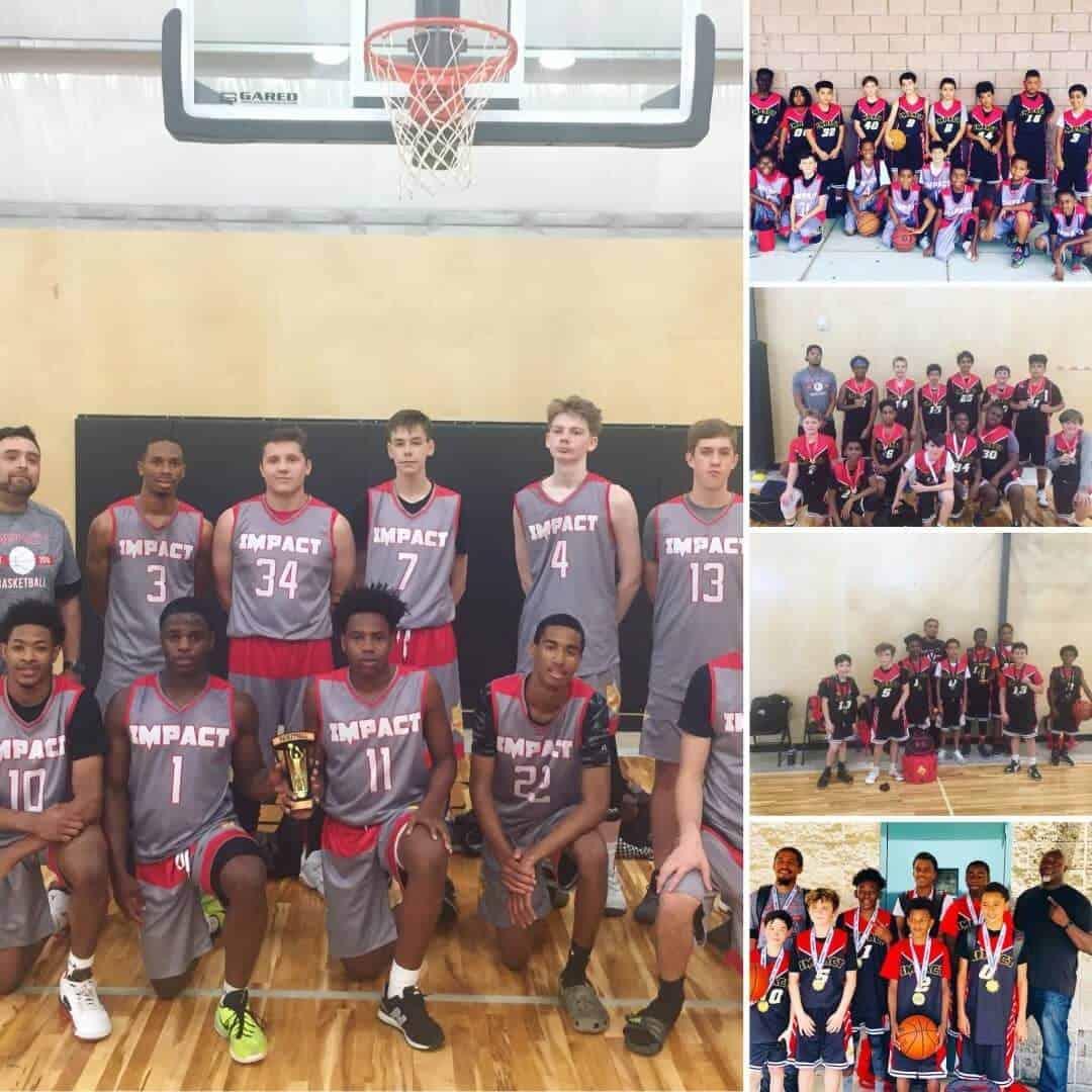 impact austin youth aau teams
