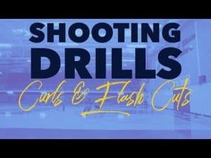 "BASKETBALL SHOOTING DRILLS ""CURLS & FLARE CUT"""