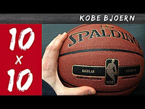"Basketball Training: ""10×10"" Ball Handling Drill – Kobe Bjoern"