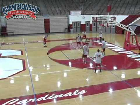 Pick and Roll Continuity Offense vs. Man and Zone Defenses