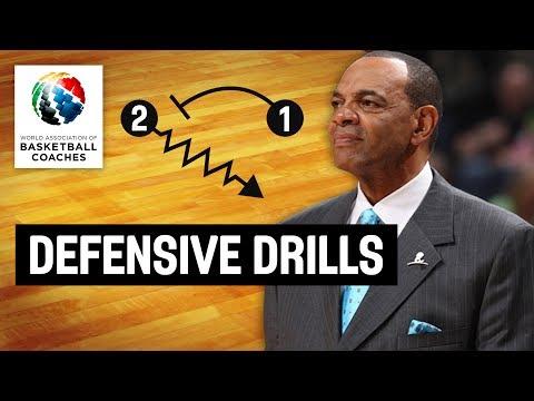 Defensive Drills – Lionel Hollins Brooklyn Nets – Basketball Fundamentals