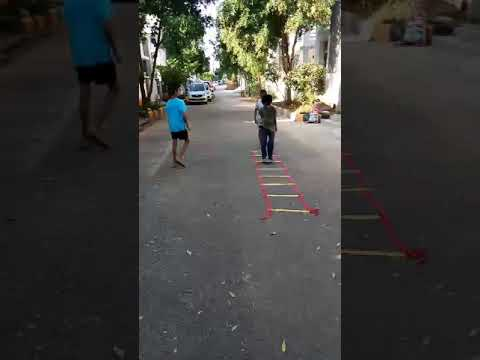 ladder workout for kids