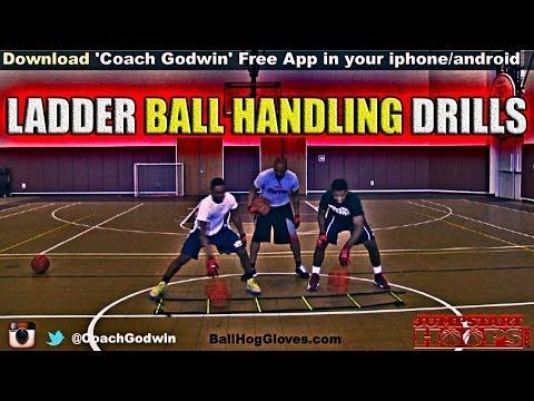 LADDER BALL HANDLING DRILLS – COACH GODWIN EP:101