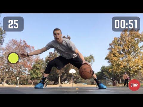 HomeCourt Dribble Workout: Reactive Ball-Handling Training