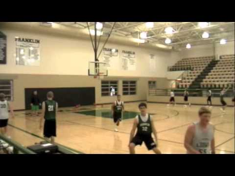 Lion Basketball defensive practice drills