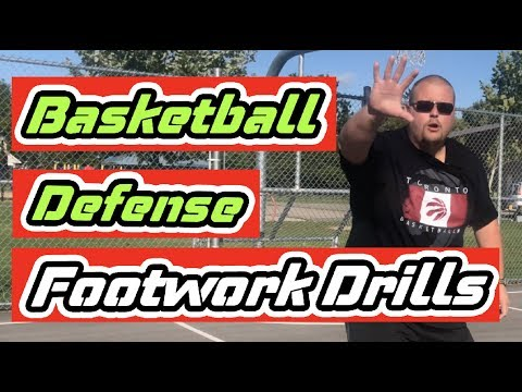 Defensive Footwork Workout For Basketball Players | Basketball Defense Footwork Drills