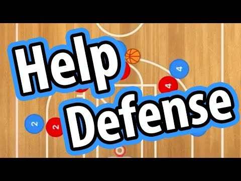 Teaching Help Defense in Basketball – Coaching Youth Basketball