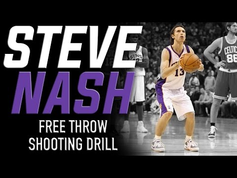 Steve Nash Free Throw Shooting Drill: Basktball Shooting Drills