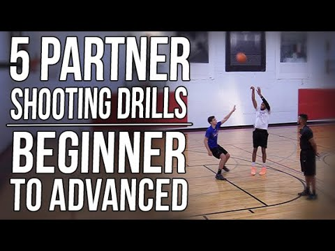 5 Partner Shooting Drills – Beginner to Advanced Progressions