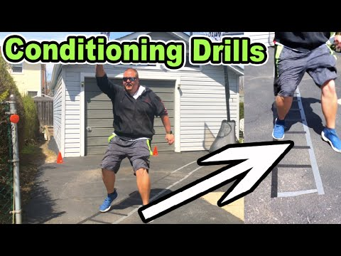 The BEST Basketball Conditioning Drills At Home
