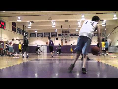 Most Intense Speed Agility Training Basketball Clinic Ever – Part 6 – Balance, footwork & shooting.